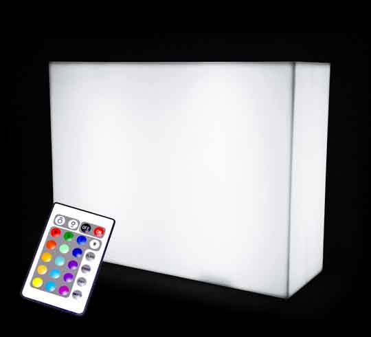 Bar Lumineux LED L120cm Multicolore Sans Fil