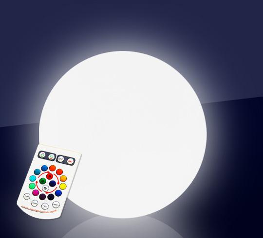 Boule Lumineuse LED Jardin 40 cm Sans Fil 75€ | Salon d\'été