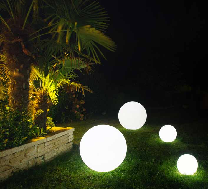boule lumineuse led jardin 40 cm sans fil 75 salon d 39 t. Black Bedroom Furniture Sets. Home Design Ideas