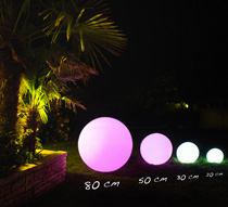 boule lumineuse led jardin 50 cm sans fil 99 salon d 39 t. Black Bedroom Furniture Sets. Home Design Ideas
