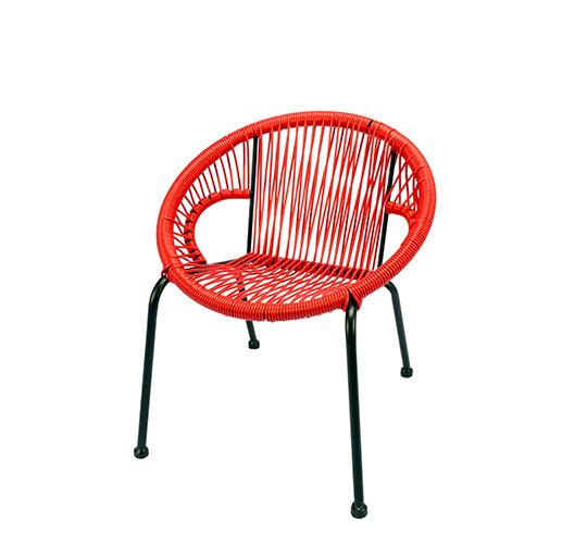 Chaise De Jardin Ipanema Enfant Fil Rouge