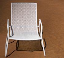 Salon de Jardin Ibiza Blanc 4 places 189€ | Salon d\'été