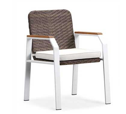 Blanc 159€Salon Miami De Chaise Jardin D'été shQdxrCtB