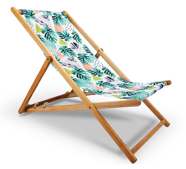 chilienne bois motif jungle triangle rond l130cm 65. Black Bedroom Furniture Sets. Home Design Ideas