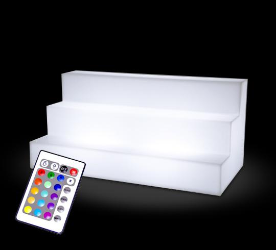 etag re lumineuse bouteilles pour bar led 66 cm sans fil. Black Bedroom Furniture Sets. Home Design Ideas