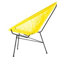 fauteuil acapulco jaune 79 salon d 39 t. Black Bedroom Furniture Sets. Home Design Ideas