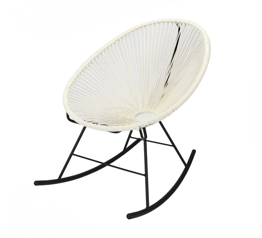 Fauteuil Acapulco Rocking Chair Blanc