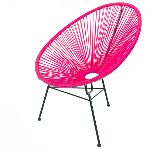 Fauteuil Acapulco Rose