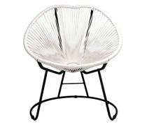 lot 4 fauteuils de jardin copacabana fil blanc 319 salon d 39 t. Black Bedroom Furniture Sets. Home Design Ideas