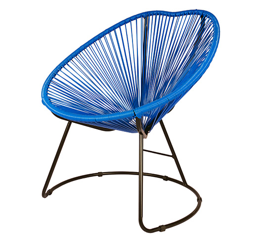 fauteuil copacabana bleu 28 images banc de jardin 2 3. Black Bedroom Furniture Sets. Home Design Ideas