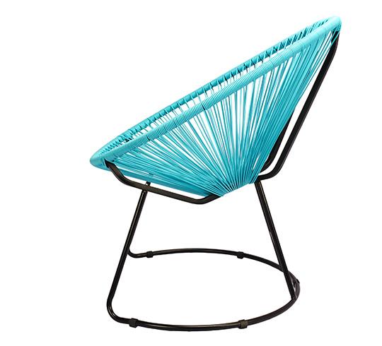 Fauteuil de Jardin Copacabana Fil Bleu Turquoise 99€ | Salon d\'été