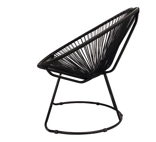 Fauteuil de Jardin Copacabana Fil Noir 99€ | Salon d\'été