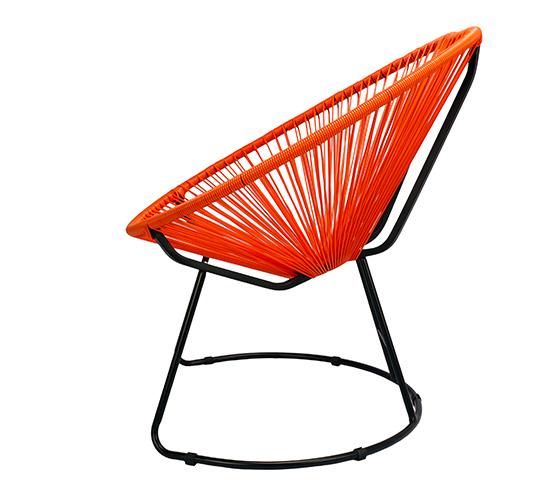 Fauteuil de Jardin Copacabana Fil Orange 99€ | Salon d\'été