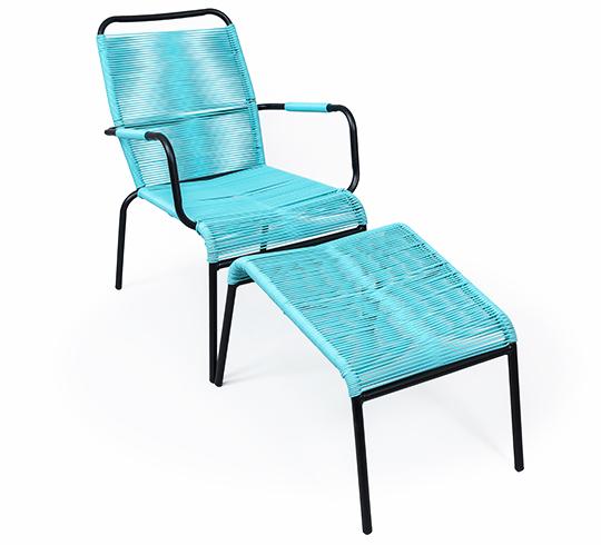 emejing fauteuil de jardin scoubidou contemporary. Black Bedroom Furniture Sets. Home Design Ideas