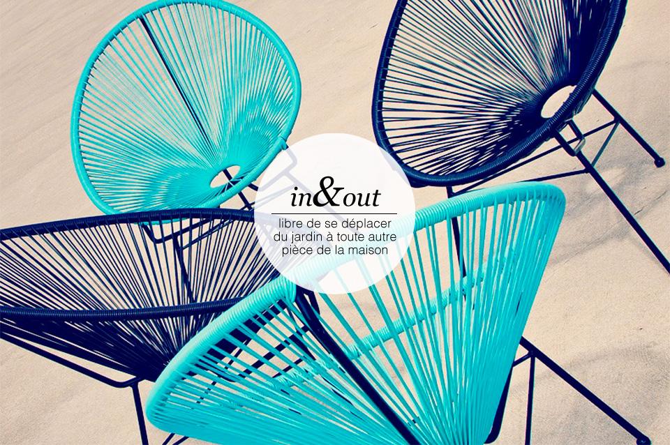 Mobilier de jardin Acapulco | Salon d\'été