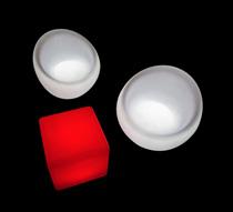cube lumineux led ext rieur 40 cm sans fil 89 salon d 39 t. Black Bedroom Furniture Sets. Home Design Ideas