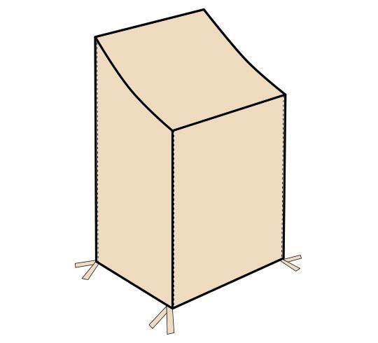 housse pour chaises empilables h110cm 35 salon d 39 t. Black Bedroom Furniture Sets. Home Design Ideas