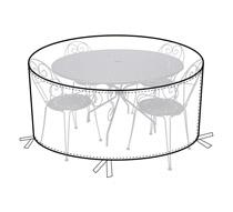 Housse Table de Jardin Ronde 140cm 32€ | Salon d\'été