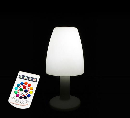 lampadaire de jardin led h115 cm sans fil rechargeable 149 salon d. Black Bedroom Furniture Sets. Home Design Ideas