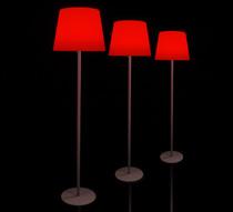 lampadaire de jardin led h148cm sans fil rechargeable 99 salon d 39. Black Bedroom Furniture Sets. Home Design Ideas