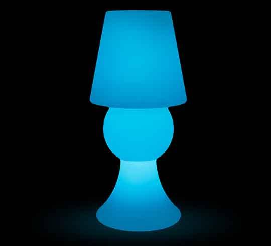 lampe poser led h59 cm sans fil rechargeable 89 salon d 39 t. Black Bedroom Furniture Sets. Home Design Ideas