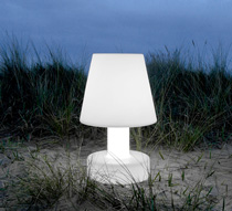 Lampe poser g ante led h90cm sans fil rechargeable 169 for Lampes rechargeables sans fil