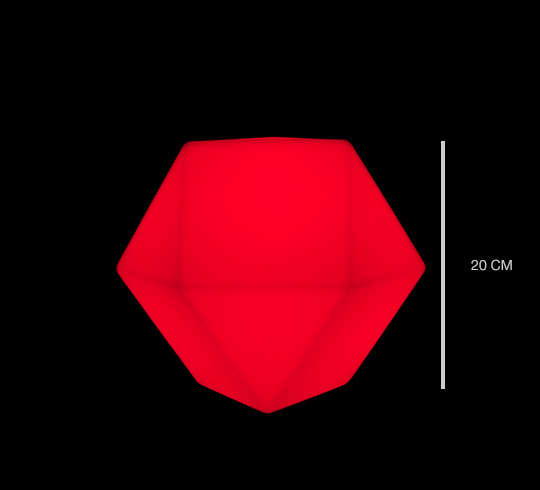 Lampe Led Rechargeable Cm Poser Diamant À 20 Lumineux zMUpSV