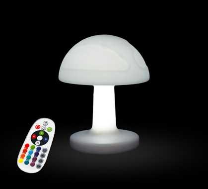 Lampe De Champignon Led Cm Enfant Veilleuse Chevet 25 Rechargeable BeroxWdCQE