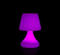 Lampe de table led h26cm sans fil rechargeable 49 salon - Lampe de salon sans fil ...