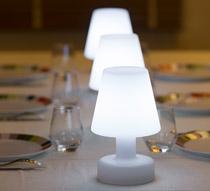 lampe de table led h25cm sans fil rechargeable 49 salon d 39 t. Black Bedroom Furniture Sets. Home Design Ideas