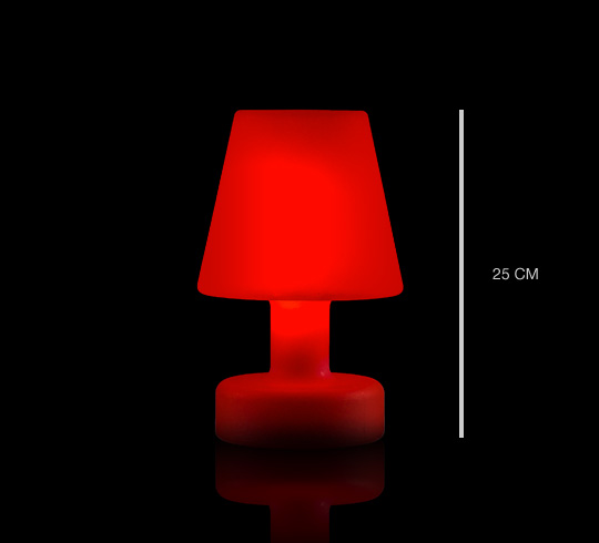 Lampe de table led h25cm sans fil rechargeable 49 salon - Lampe de table led sans fil ...