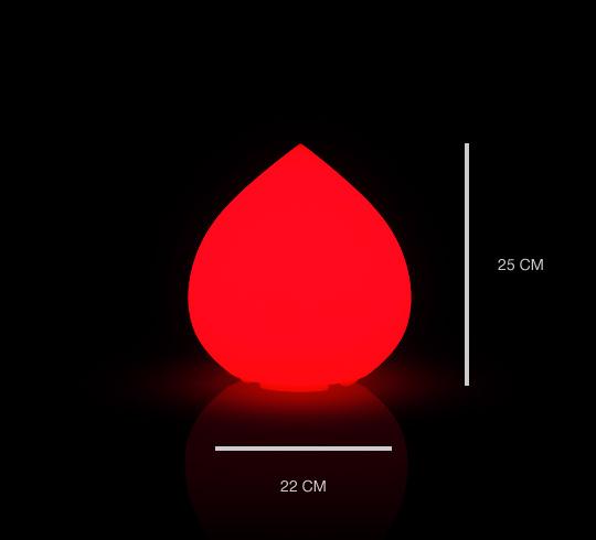 Lampe Fil Sans Poser H25 Goutte Led Cm Rechargeable À qSUpzGMV