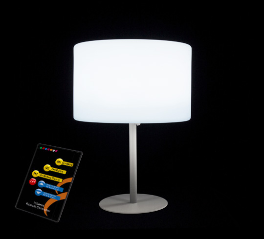 lampe de table led h53cm sans fil rechargeable 79 salon. Black Bedroom Furniture Sets. Home Design Ideas