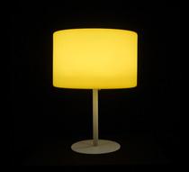Lampe de table led h53cm sans fil rechargeable 79 salon for Lampe de salon sans fil