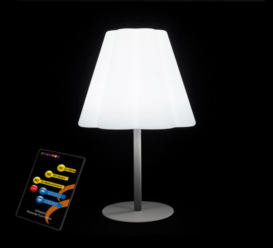 lampe de table led h58cm sans fil rechargeable 79 salon d 39 t. Black Bedroom Furniture Sets. Home Design Ideas