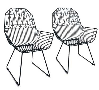Chaises de Jardin Aluminium | Salon d\'été