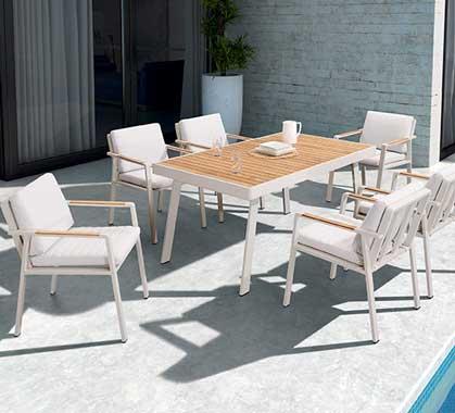 Salon d\'été, Meubles de jardin design, Tables et Salons de ...