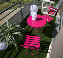 Stunning Table De Jardin Metal Rose Gallery - House Design ...