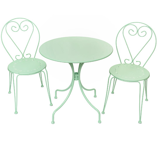 Emejing Table De Salon De Jardin Vert Contemporary Awesome Interior Home Satellite