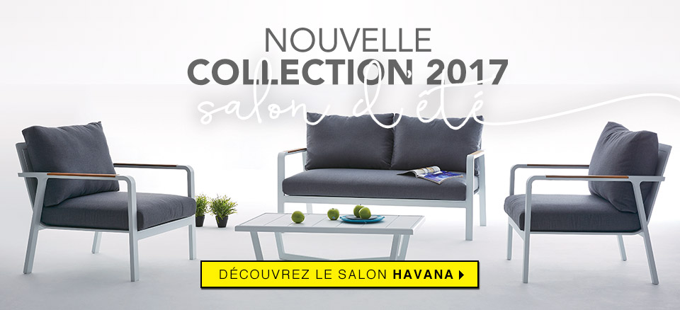 Emejing Salon De Jardin Alu En Solde Contemporary - Amazing House ...