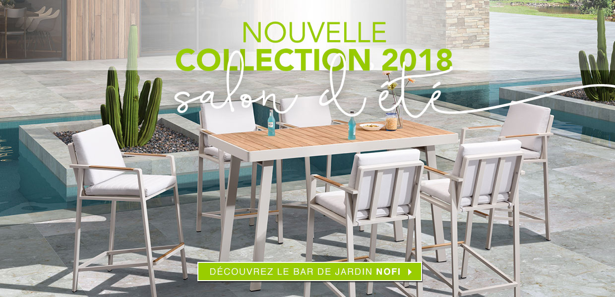 Salon d'été Nouvelle Collection 2018