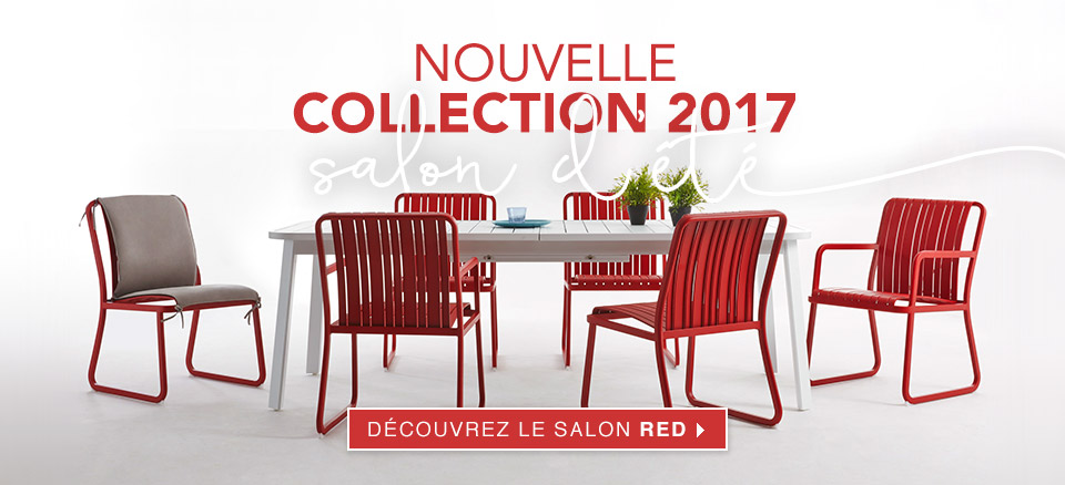 Salon de Jardin Red