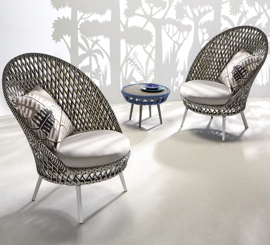 Emejing Salon De Jardin Tresse Design Contemporary - Amazing House ...