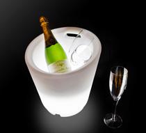 Seau champagne lumineux led 30 cm sans fil 65 salon d 39 t - Seaux a champagne lumineux ...
