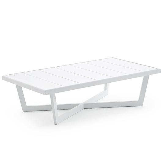 Salon de Jardin Aluminium Blanc Havana 4 places 1399€ | Salon d\'été