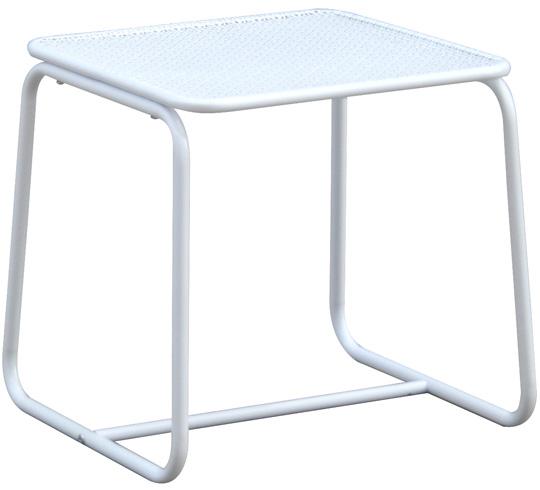 Table basse de jardin blanche des id es int ressantes pour la conception de des for Fabriquer petite table de jardin
