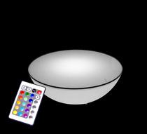 Lumineuse Extérieure Sans Ronde Fil Basse Led Avec Plateau Cm 60 Table f7gyv6bY