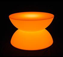 table basse lumineuse led d60 cm ronde ext rieure sans fil 195 sal. Black Bedroom Furniture Sets. Home Design Ideas