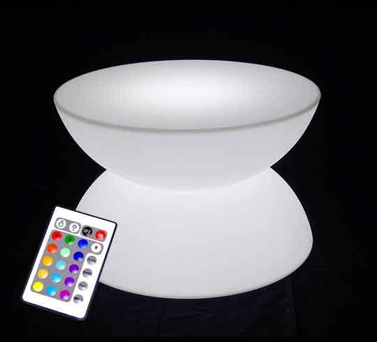 Fauteuil Lumineux LED H70cm Extérieur Sans Fil 269€   Salon ...