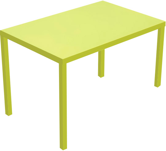 Awesome Table De Jardin Couleur Anis Contemporary - House Design ...